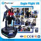 Funin VR Standing Up Shooting Game Machine 9D Fly VR Flight Simulator For Shopping Malls