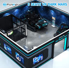Indoor 9D VR Simulator Game Machine With Electric Crank Platform