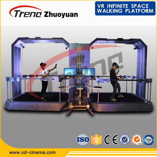 Indoor Multi Directional Virtual Reality Gaming Treadmill For Shopping Mall