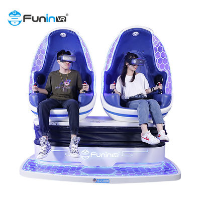 9D egg 360 VR Chair Cinema Shooting 9D vr box Movie Simulator Motion Ride Game สำหรับห้างสรรพสินค้า
